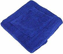 Damen Herren Saunakilt Sauna Sarong Klettverschluss Baumwolle Frottier - flauschig weich, Auswahl:blau, Größe:Herren 55x160cm