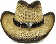 Damen Herren Stilvolle Persönlichkeit Cowboyhut