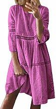 Damen Kleider Strand Elegant Lässig A-Linien