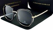 Damen Sonnenbrillen Qualitäts-Platz Goldrahmen