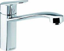 Damixa Clover Stahl Hochdruck Armatur Einhandhebelmischer Festauslauf Wasserhahn