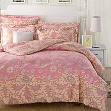 Damjic North American Wind Prinzessin Koreanischen Garten Suite Mit Vier Gebl¨¹mter Bettw?sche Baumwolle E K?nig