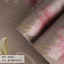 Damlonby Die einfache 3D-Textur Streifen dicken Vlies zu Tapeten Schlafzimmer Wohnzimmer TV Hintergrund Tapete, WFB 05 entfernen,