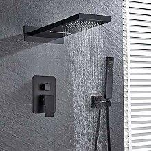 DAMO&GUYAN Wasserfall Regenfall Messing Dusche