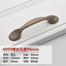 DaMonicv Upscale weiße Tür Schublade stilvolle Jane OSZE griff Metall Möbel Schiebetür kleiner Griff  96 mm