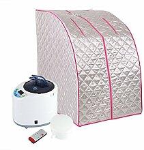 Dampfsauna Maschine und Zelt Tragbar Faltbar