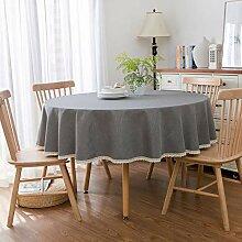 Damuzhi Round Table Tischdecke Tischdecke Aus