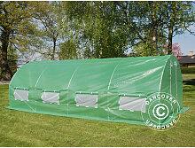 Dancover - Foliengewächshaus 3x8x2m, 24m², Grün