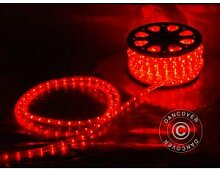 Dancover Lichtschlauch, 25m LED, Ø 1,2cm, Rot
