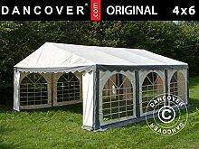 Dancover Partyzelt Pavillon Festzelt Original 4x6m