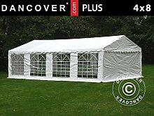 Dancover Partyzelt Pavillon Festzelt Plus 4x8m PE,