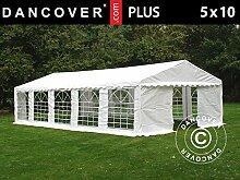 Dancover Partyzelt Pavillon Festzelt Plus 5x10m