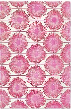 Dandelion Teppich in Rot von Knots Rugs