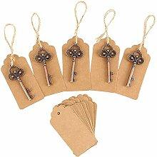 Dandelionsky 50 Stück Vintage Schlüssel