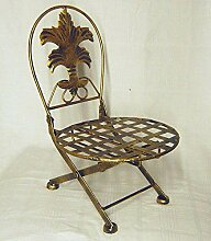 DanDiBo Blumenhocker Stuhl klappbar Blumenständer