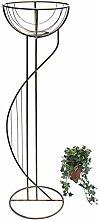 DanDiBo Blumensäule Metall 115 cm Blumenständer