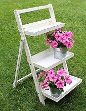 DanDiBo Blumentreppe 14B496 aus Holz 93 cm Blumenständer Pflanzentreppe Blumenregal Regal