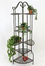 DanDiBo Blumentreppe 167 cm Blumenregal 110243 Blumenständer Pflanzenständer Regal Braun
