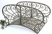 DanDiBo Brücke aus Metall JC150106 Gartenbrücke