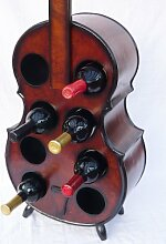 DanDiBo Flaschenhalter Cello Weinregal 102cm