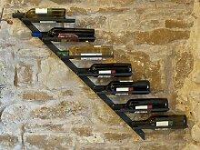 DanDiBo Flaschenhalter Weinregal Diagon 100cm aus