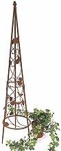 DanDiBo Rankhilfe Pyramide 082547 aus Metall 95 cm