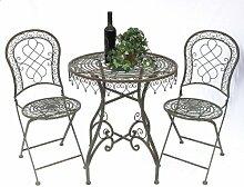 DanDiBo Sitzgruppe Malega 12184-85 Gartentisch + 2