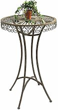 DanDiBo Stehtisch Garten Metall Antik 130414 Tisch