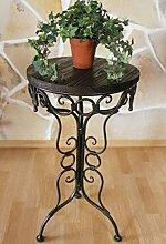 DanDiBo Tisch Beistelltisch 68 cm aus Metall mit