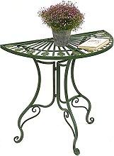 DanDiBo Tisch Halbrund Wandtisch 93995