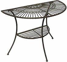 DanDiBo Tisch Halbrund Wandtisch Malega 100531