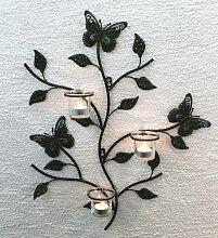 DanDiBo Wandteelichthalter Metall Kerzenständer