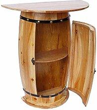 DanDiBo Wandtisch Tisch Weinfass 0373 Schrank