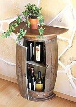 DanDiBo Wandtisch Tisch Weinregal Weinfass 0373-R