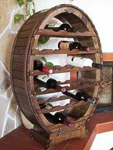 DanDiBo Weinregal aus Holz für 24 Flaschen