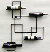 DanDiBo Weinregal Black Line Flaschenständer