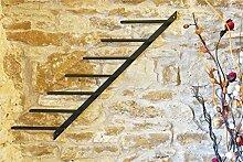 DanDiBo Weinregal Diagon Links 100cm aus Metall