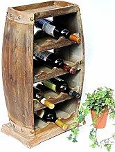 DanDiBo Weinregal Holz Weinfass 1549 Bar