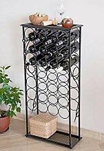 DanDiBo Weinregal Rico 100 cm Flaschenständer aus