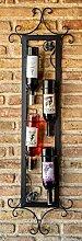 DanDiBo Weinregal Vino 130 cm Senkrecht aus Metall