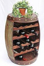 DanDiBo Weinregal Weinfass 1546 Fass aus Holz 70cm