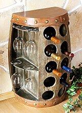 DanDiBo Weinregal Weinfass 1547 Beistelltisch
