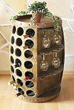 DanDiBo Weinregal Weinfass Holz 0416 Bar