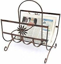 DanDiBo Zeitungsständer Art.169 aus Metall 37 cm