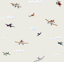 Dandino PL 3004–3Tapete mit Motiv Planes,