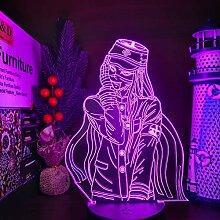 Danganronpa Korekiyo Shinguji 3D Lampe Nachtlicht