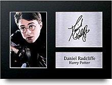 Daniel Radcliffe unterzeichnet A4Gedruckt