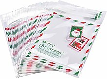 Danigrefinb 100 Stück Weihnachtssäckchen