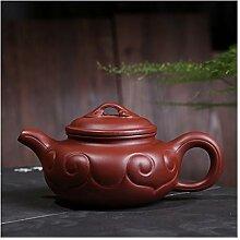 DANJIA Big Red Wishful Teekannen-Tee-Set, Ro