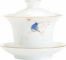 DANJIA handbemalte Keramik-Teetasse Kung Fu Tee